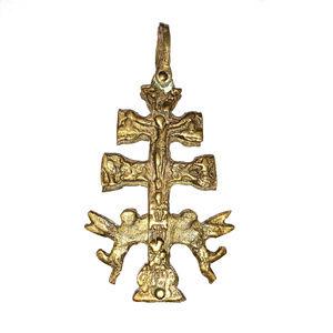 Jewelry - RELIGIOUS BRASS CROSS PENDANT